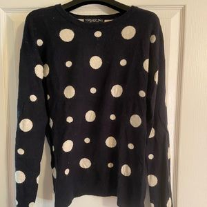 Topshop dotted sweater